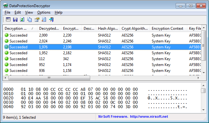 DataProtectionDecryptor