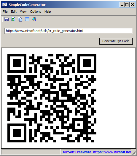 Windows QR Code Generator